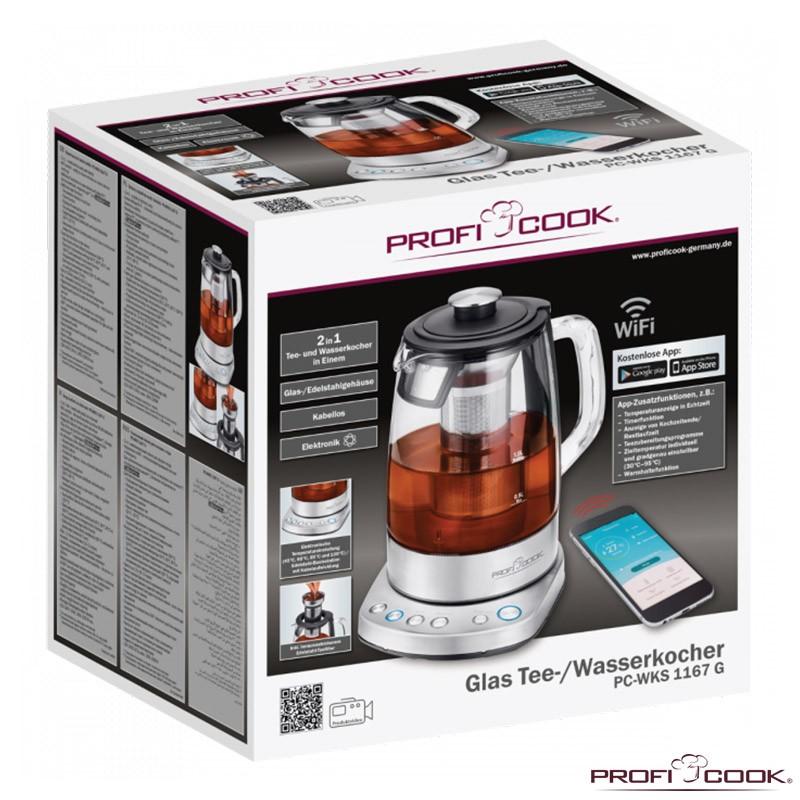 چای ساز و دمنوش ساز وای فای دار پروفی کوک مدل PC-WKS 1167
