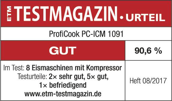 دریافت نشان GUT از ژورنال حمایت از مصرف کننده TestMagazine آلمان