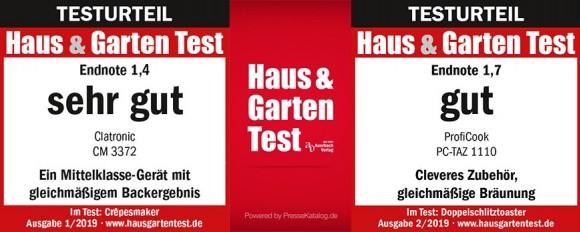 Haus and Garten Test